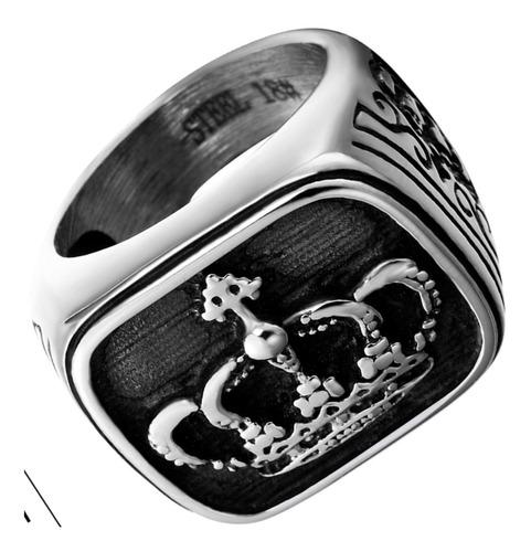 anel aço inox 316 maçonaria punk moto metal hip hop lxbr a04