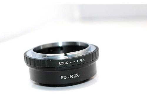 anel adaptador de lente canon fd para sony nex e-mount