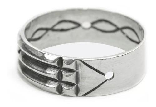 anel aliança atlante prata atlantis louksor berkat sku 9039