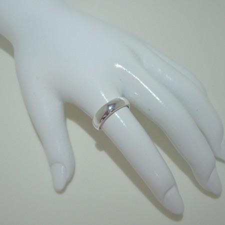 anel aliança banhado a prata de lei 925