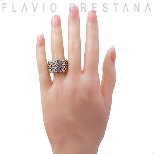 anel alianca celta, prata 925. fabricacao propria - 11024901