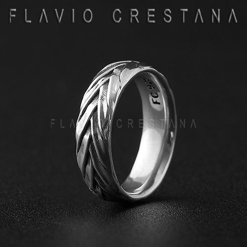 anel alianca fios trancados, anatomica, prata 925. fabricaca