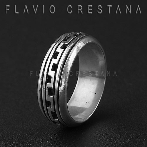 anel alianca giratória, prata 925. fabricacao propria - 1102