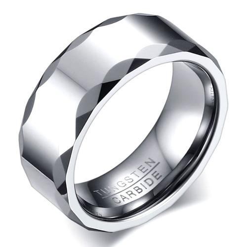anel aliança masculino feminino compromisso tungstênio 627 $