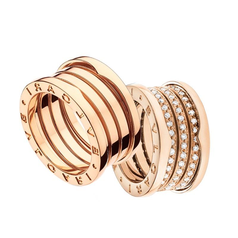 7e72e3dd92b anel aliança modelo bvlgari ouro 18k e diamantes mod. cj1670. Carregando  zoom.