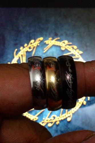 anel aliança senhor dos anéis masculino feminino