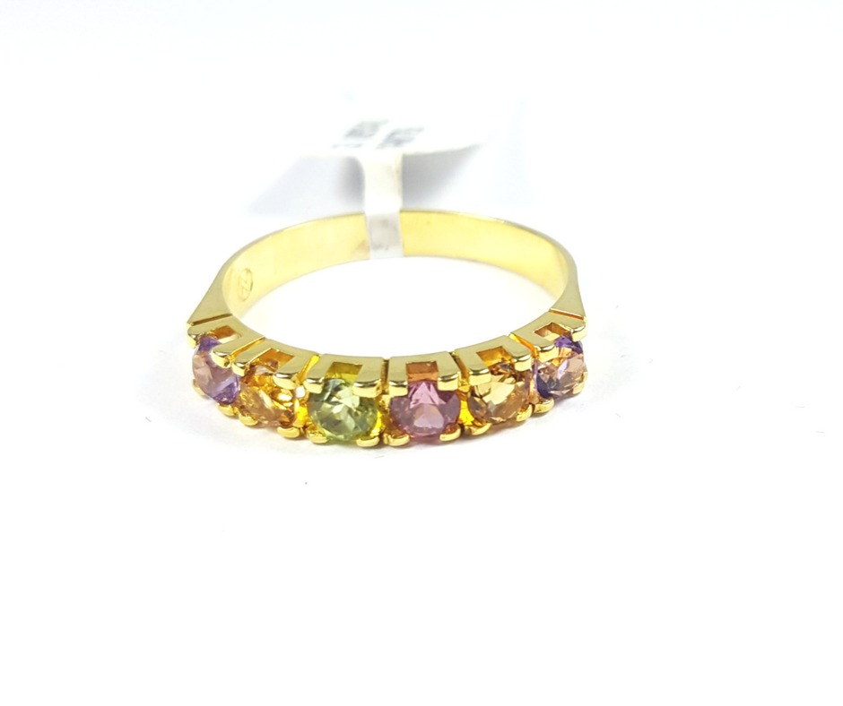 9c72af60ba048 anel aparador de aliança ouro 18k pedra brasileira natural. Carregando zoom.