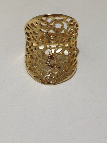 anel banho de ouro