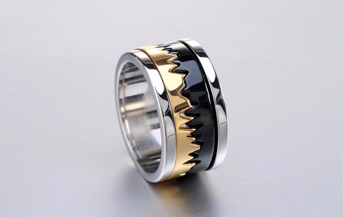 anel batidas do coração giratório