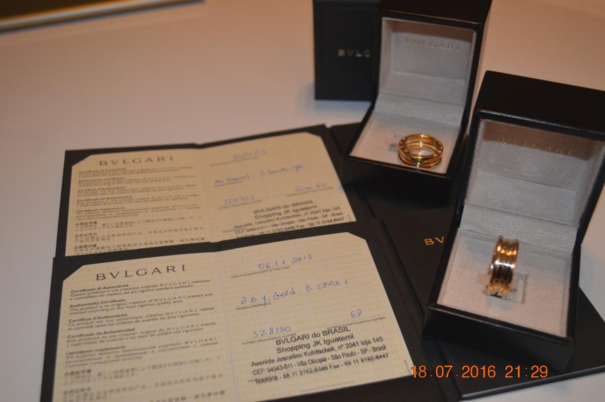 bdef052bfce Anel Bvlgari B.zero 1 - Ouro Amarelo