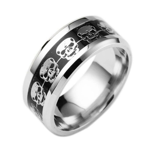 anel caveira excelente qualidade aço inox - melhor preço!!!!