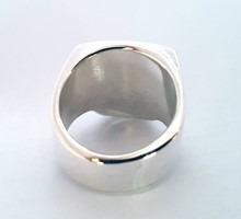 anel caveira johnny depp em prata maciço, aros 25 ao 30