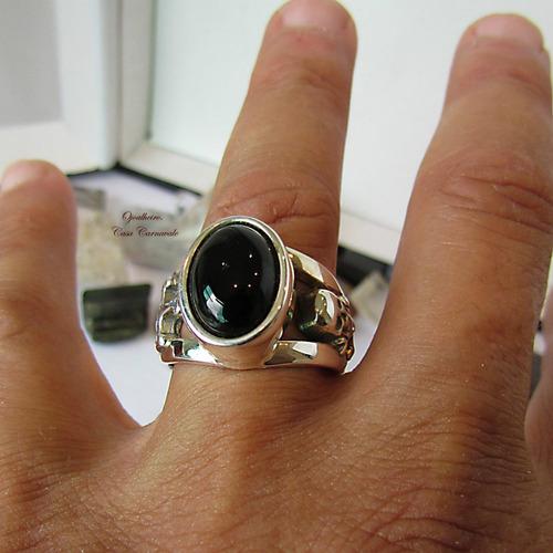 anel caveira prata