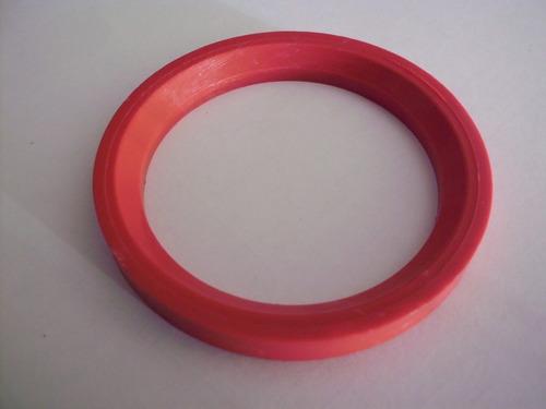 anel centralizador honda vermelho - ( jg. c/ 4 pçs)