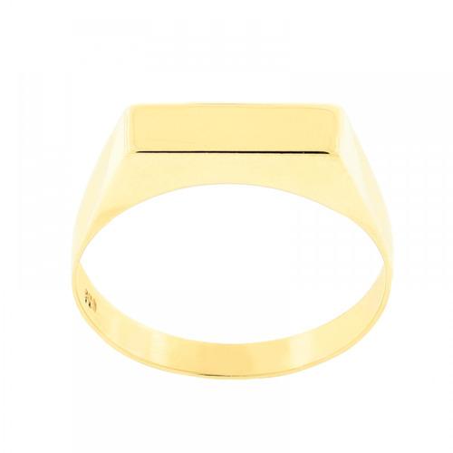 anel chapa em ouro 18k - ov/8768