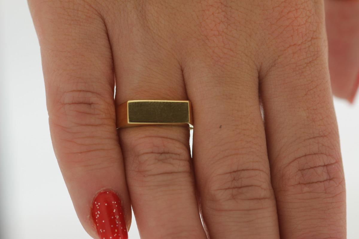 487b033c2a3f8 Anel Chapinha Em Ouro 18k 750 Com Garantia Permanente - R  560,00 em ...