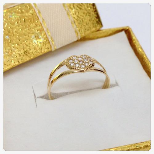 anel coração pedra lapidação brilhantes ouro 18k certificado