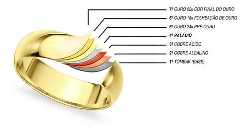 anel coração vazado fino e delicado banhado ouro 18k