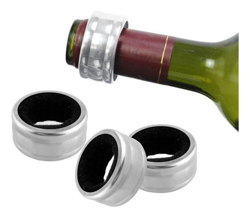 anel corta pingo vinho anti gotas inox salva pingos garrafa
