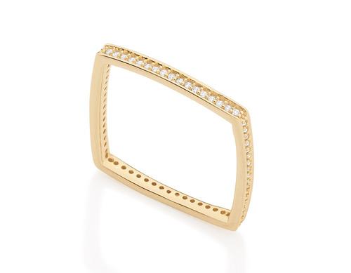 anel craveja 64 zircônias giovanna antonelli rommanel 512101