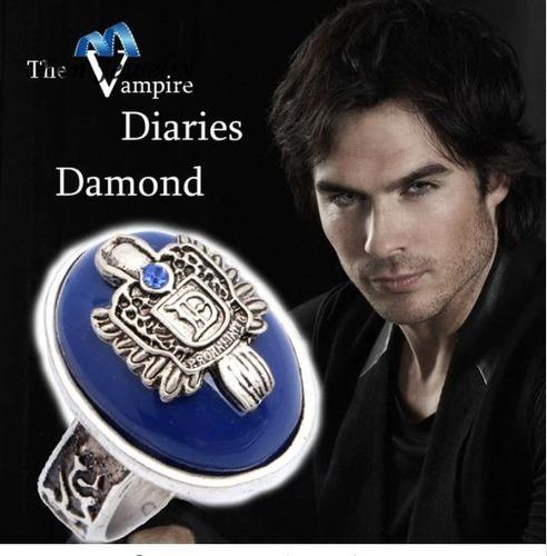 anel damon salvatore serie de the vampire diaries