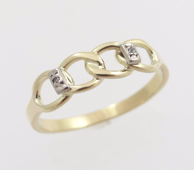 ac5737862976c Anel De Arcos Com Diamantes Em Ouro - Paris Jóias - R  499,00 em ...