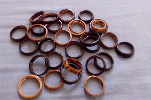anel de côco lote com 30 unidades barato