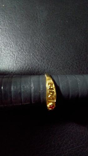 anel de formatura abc folheado a ouro 18 com frete grátis