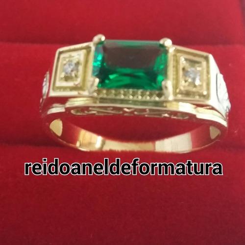 anel de formatura bioclínica ouro 18k 12x sem juros
