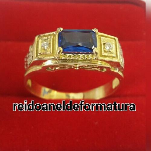 anel de formatura em publicidade ouro18k 12x sem juros