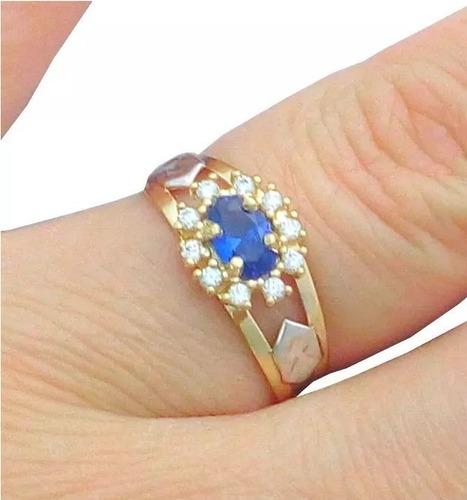 anel de formatura feminino em ouro 18k com símbolos oficiais