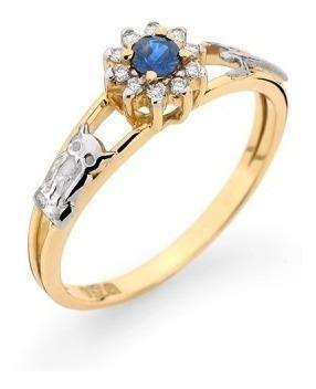 anel de formatura ouro 18k pedras naturais mod. cj1147