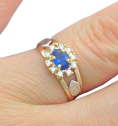 anel de formatura ouro 18k pedras todos cursos frete grátis