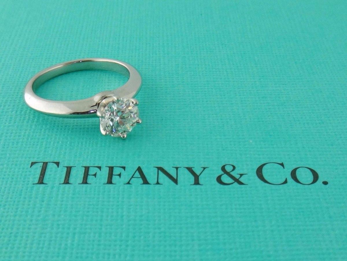 5477835a7876f anel de noivado solitário tiffany   co 0.87 quilates. Carregando zoom.
