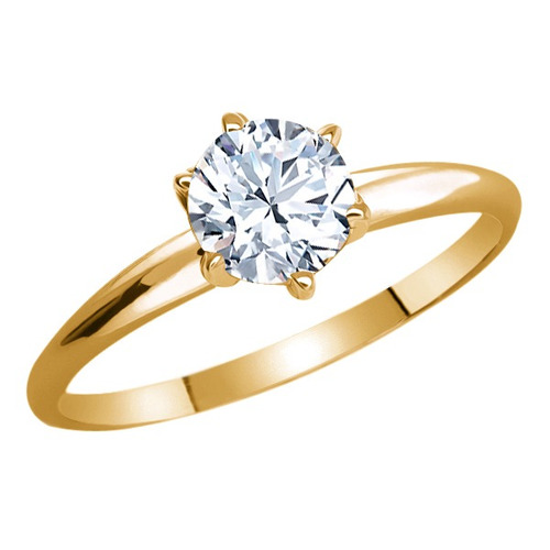 anel de ouro amarelo banhado em prata 925 0,60 kt topázio b