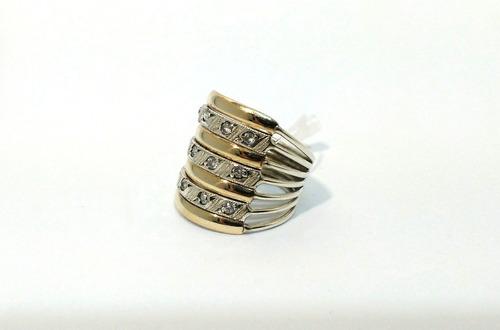 anel de ouro prata pedras aliança vazada compromisso noivado