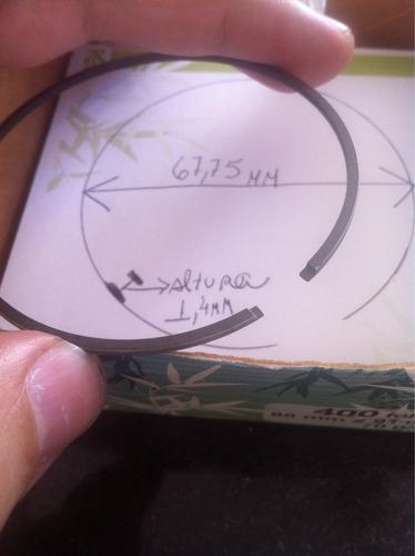 anel de pistão yamaha honda ??? novo 67,75mm original