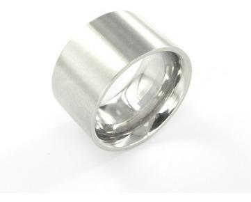 anel de prata 950 largo escovado
