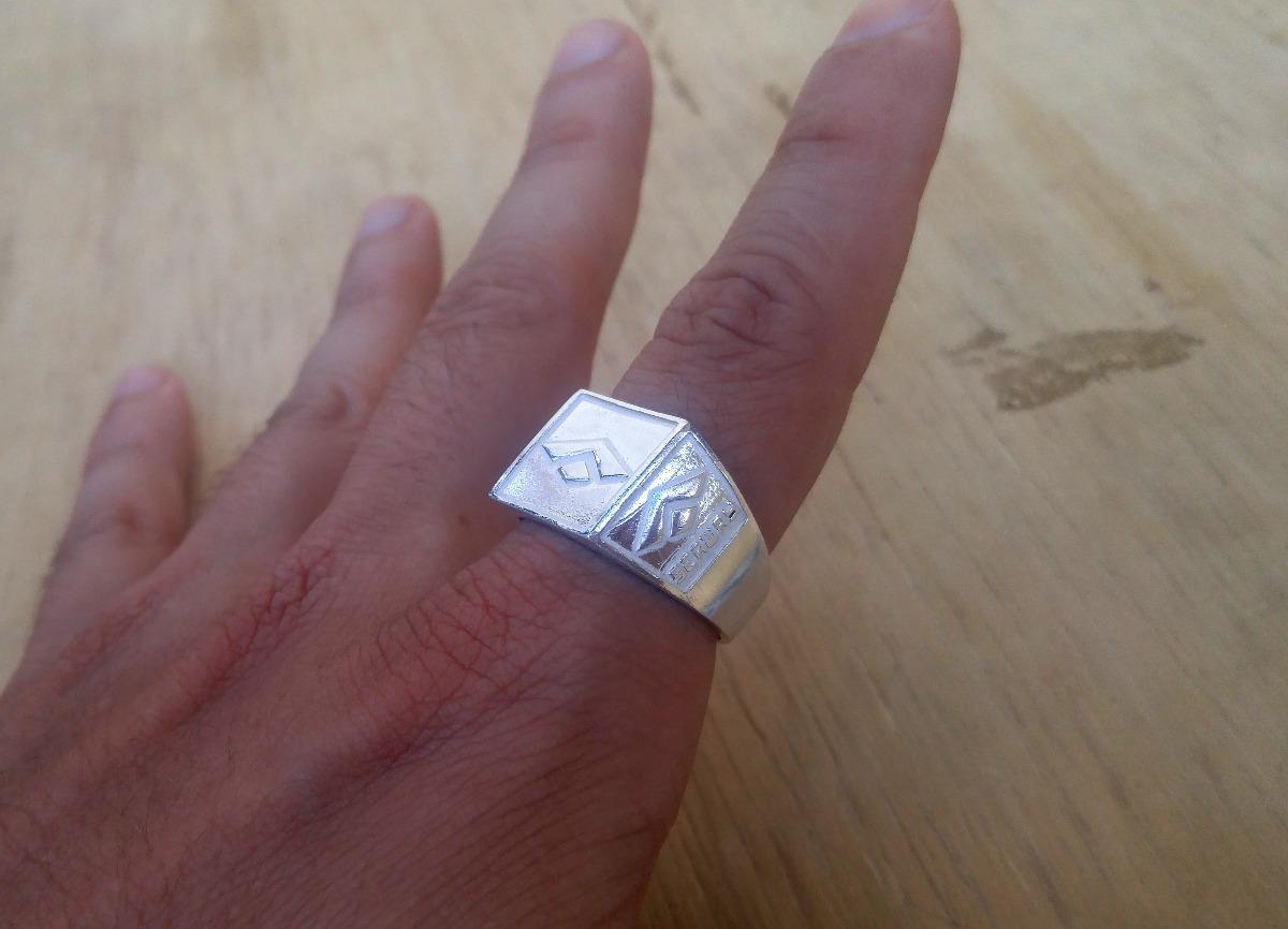 f4d45428ea anel de prata cyclone diamante erva cifrao dedeira + brinde. Carregando  zoom.