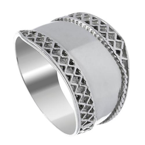 anel de prata indiano