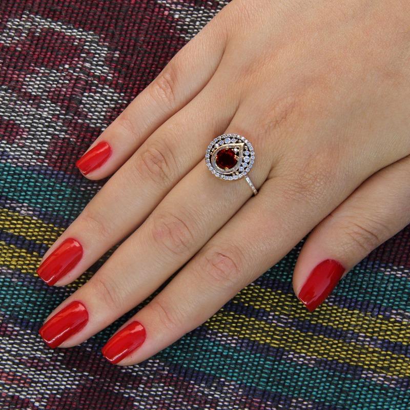 5e717b8389 anel de prata turca mugla rubi. Carregando zoom.