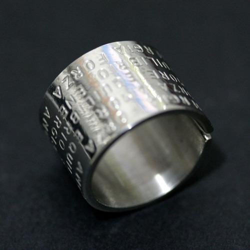 anel de pressão aço