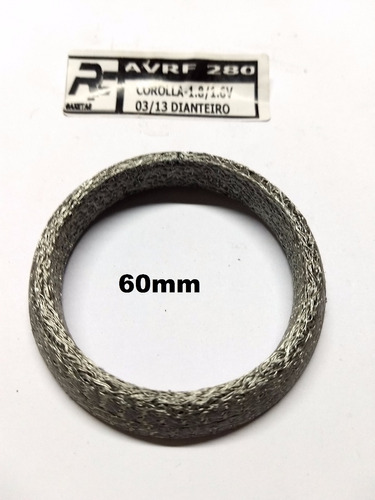 anel de vedação escapamento toyota corolla 1.8 16v  03/13 dt