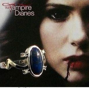 anel elena gilbert the vampire diaries pedra azul