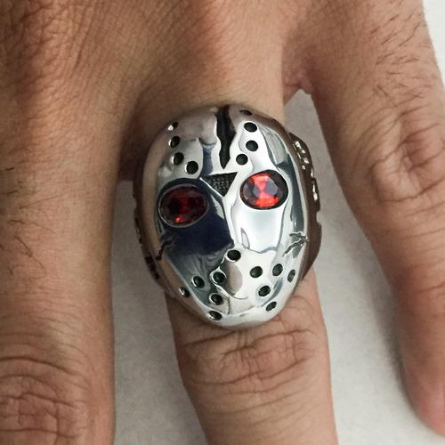 anel em aço inoxidável / dedeira/ jason