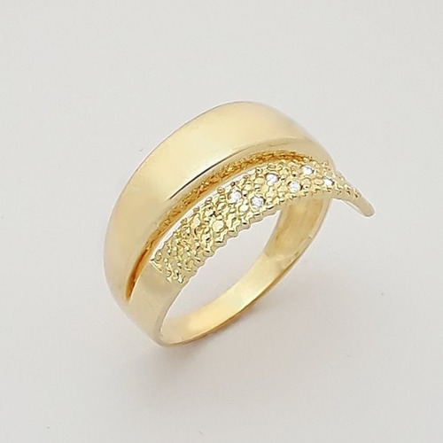 anel em ouro 18k