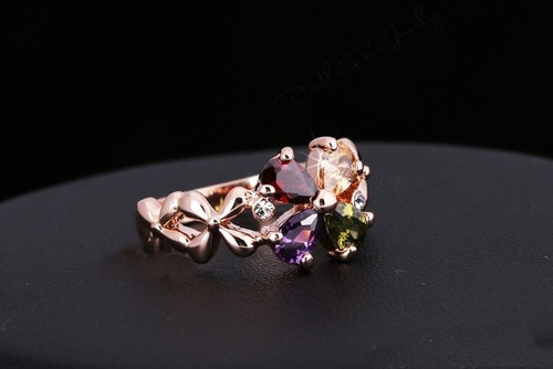 anel em ouro 18k plated