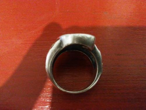 anel em prata maciça exército romano/ gladiador