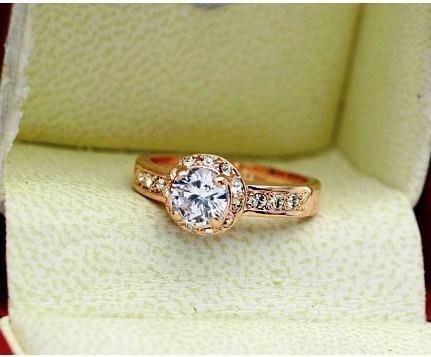 anel estilo italiano com cristais austriacos