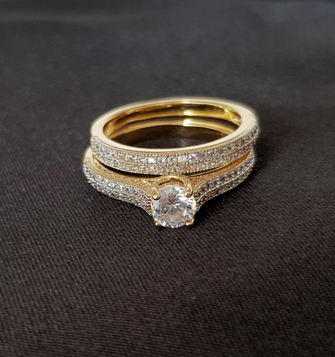 anel feminino solitário